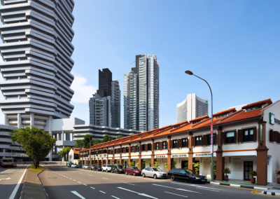 Facade Day - Hotel Clover 33 Jalan Sultan