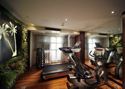 Gym - Hotel Clover 33 Jalan Sultan